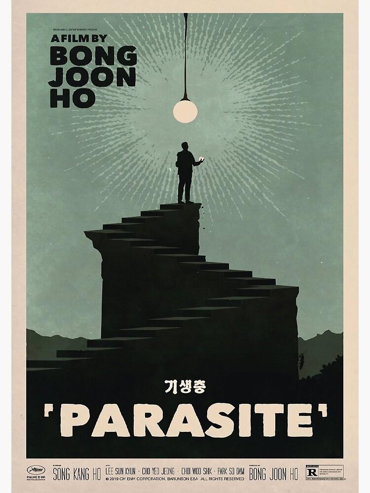 Parasite Film Poster by tarajxde