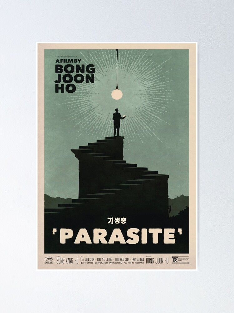 Alternate view of Parasite Film Poster Poster