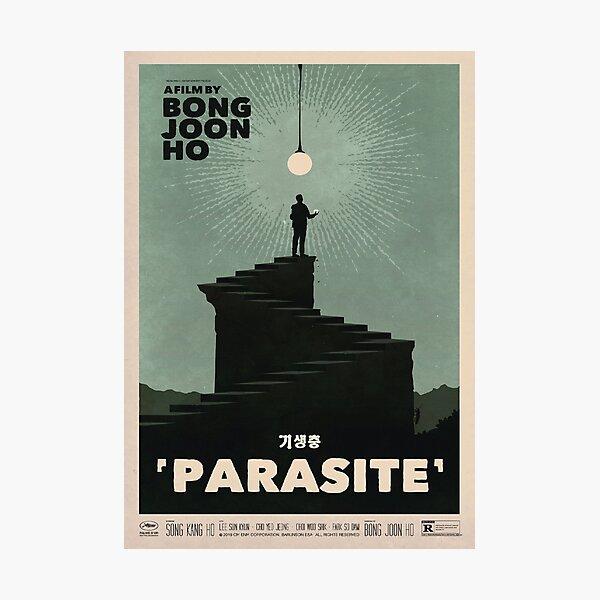 Parasite Film Poster Photographic Print