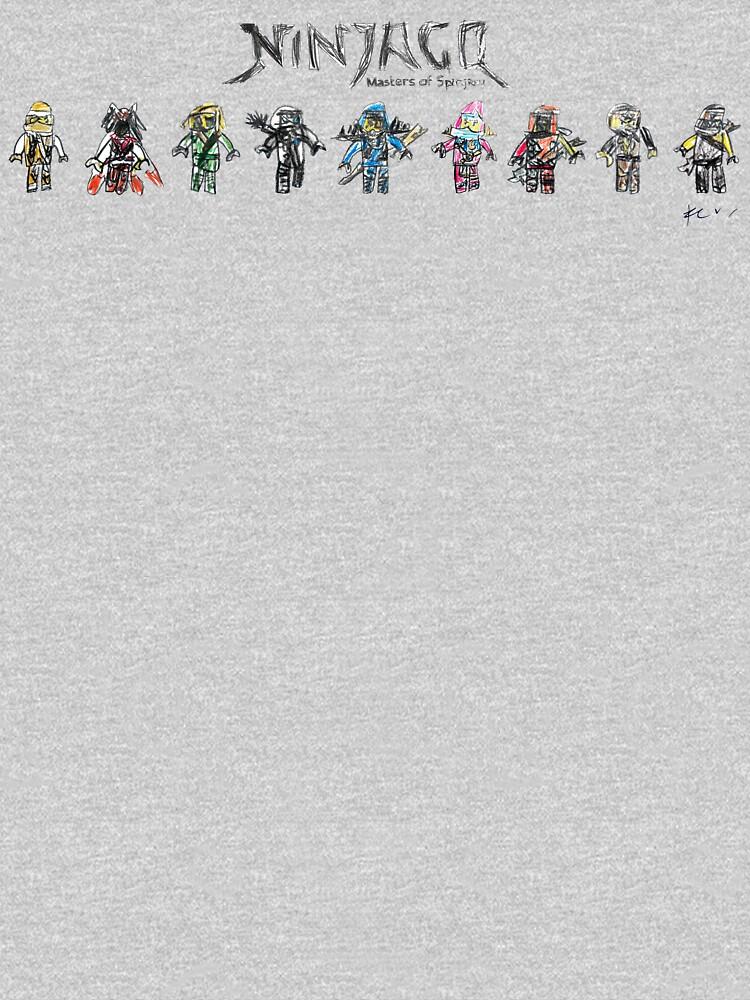 LEGO Ninjago - minimal by gosugimoto