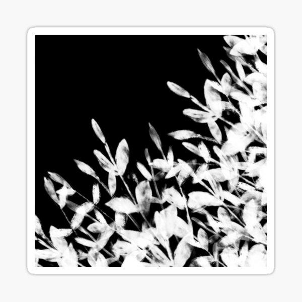 Foliage Series no1 black Sticker