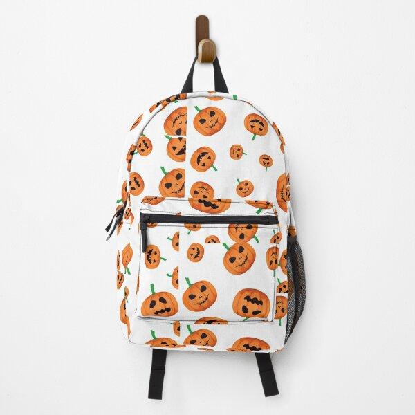 Funny Pumpkin halloween design Backpack