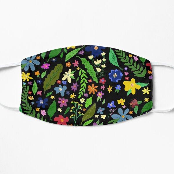 Whimsical Flowers Mask