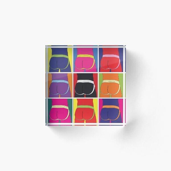 Jockstrap Desire Nine Acrylic Block