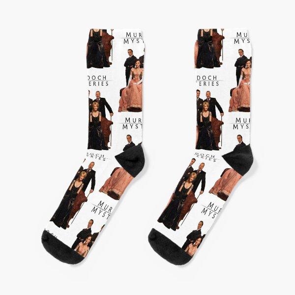 Murdoch Mysteries Design Socks