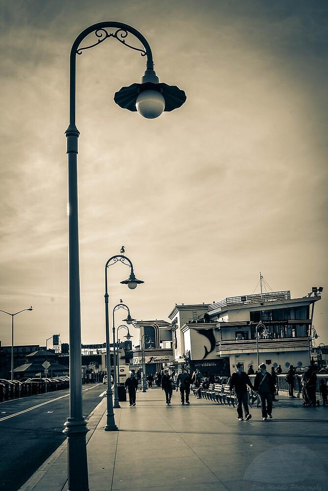 Fisherman's Wharf Monotone by SaraMichelle