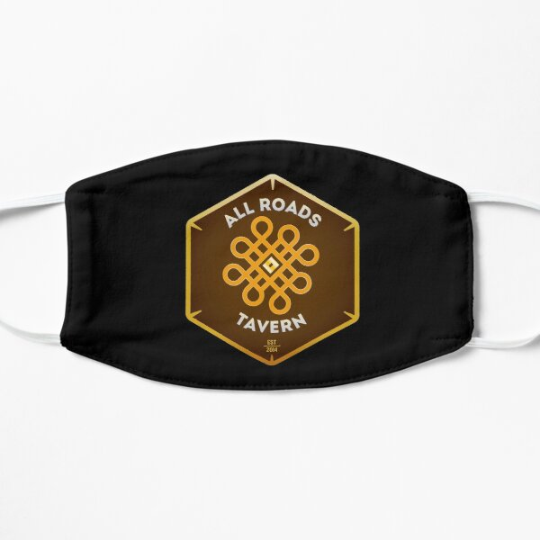 "All Roads Tavern ""Dice Sign"" Full Color Logo Small Mask"