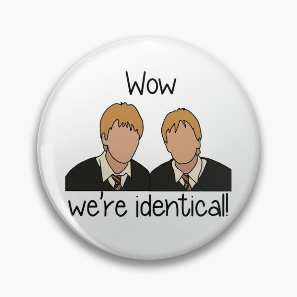 Fred and George Weasley Pin