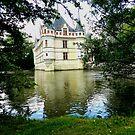 Chateau Azay-le-Rideau by hans p olsen