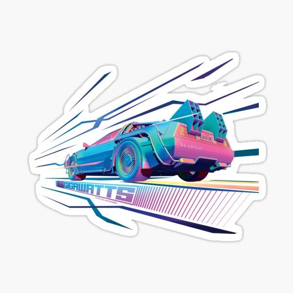 Back to the Future - 1.21 Gigawatts Sticker