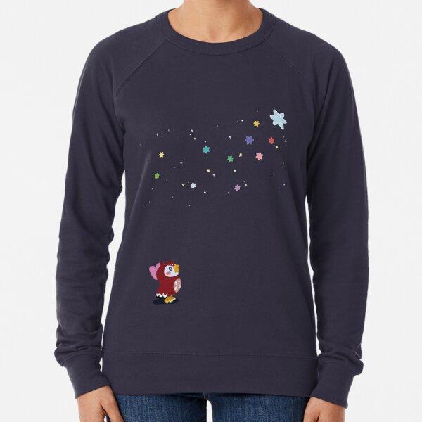 Animal Crossing Celeste Starry Night Star Gazing Lightweight Sweatshirt