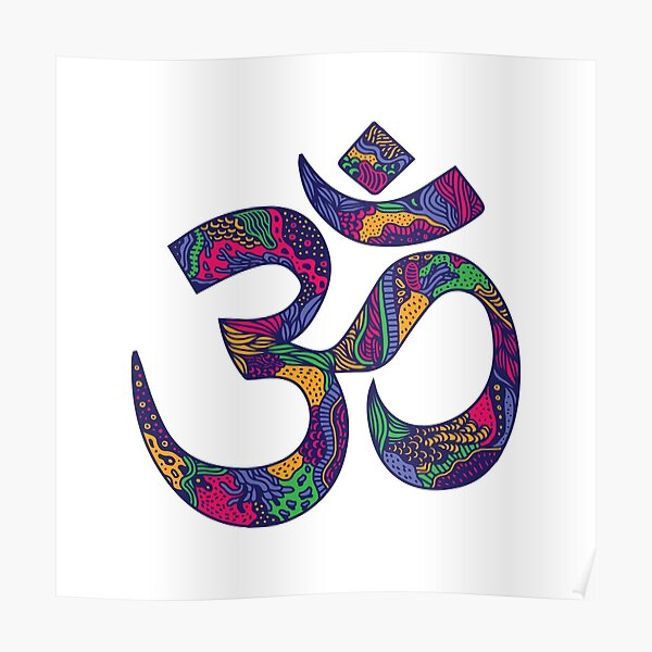 Om Logo Posters Redbubble