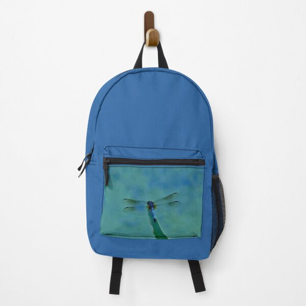 T-Bird's Dragonfly On Nature's Diving Board Backpack