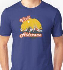 Visit Alderaan Slim Fit T-Shirt
