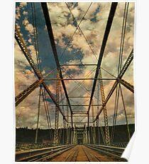 Skinner's Falls-Milanville Bridge Poster