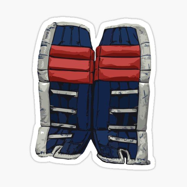90s Goalie Pads Sticker