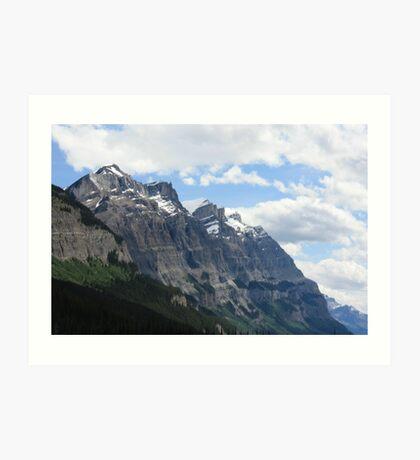 Rocky Mountain View Art Print