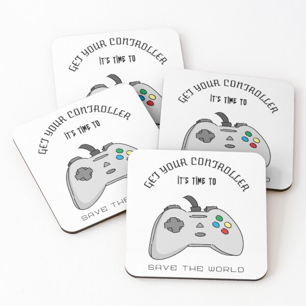 Time to save the World Coasters (Set of 4)