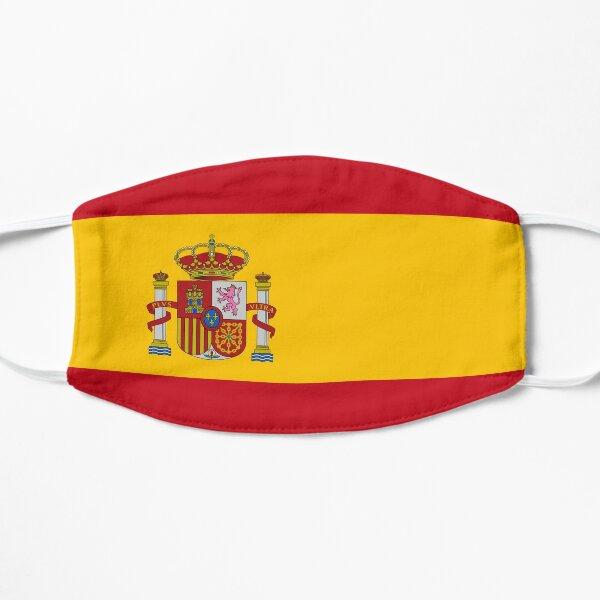 Spain Flag Flat Mask