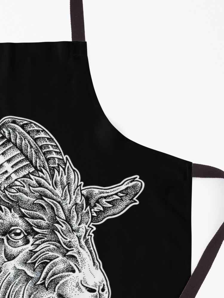 Alternate view of Live deliciously  Apron