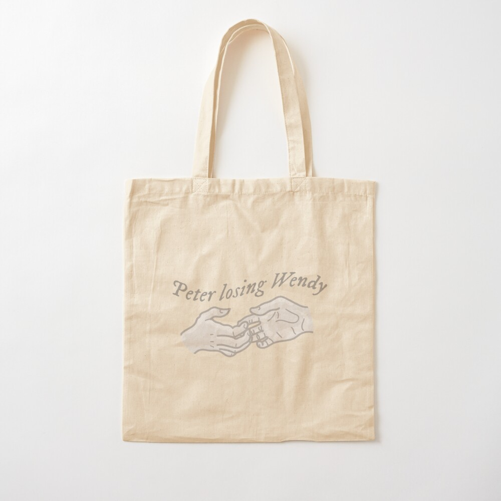 Cardigan Lyric Peter Losing Wendy Tote Bag By Laughingplace55 Redbubble