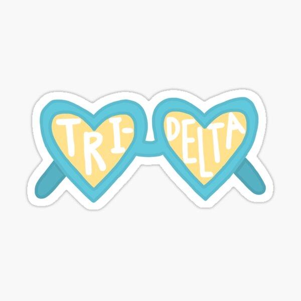 Tri Delt Sunglasses Sticker