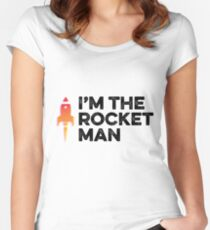 Rocket Man Women's Fitted Scoop T-Shirt
