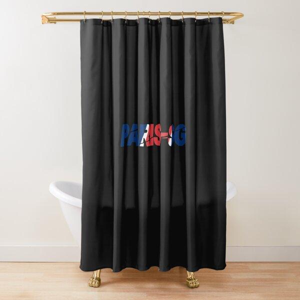 PARIS-SG logo supporter  Rideau de douche