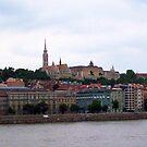 Scenic Budapest, Hungary by Robert Phelps