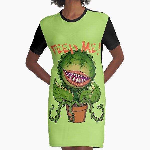 Feed me Seymour Graphic T-Shirt Dress