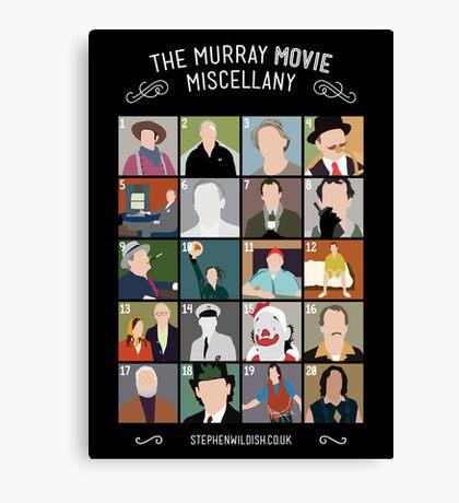 The Murray Movie Miscellany  Canvas Print