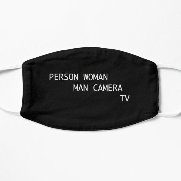 Person Woman Man Camera TV - ver 1 Flat Mask