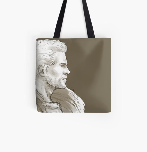 Sketchy Cullen All Over Print Tote Bag