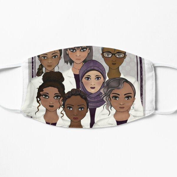 Women in Science Flat Mask