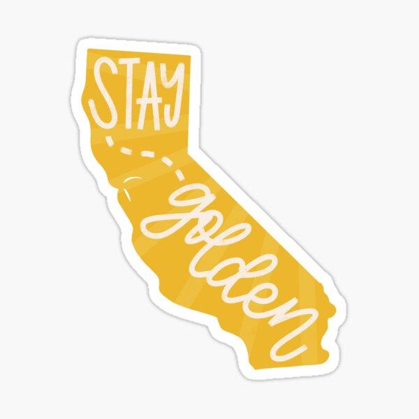 Stay Golden California Sticker