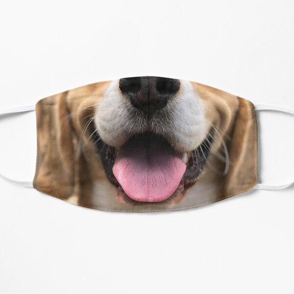 beagle dog funny masks Flat Mask