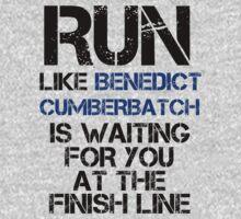 Run Like Benedict Cumberbatch is Waiting | Women's T-Shirt
