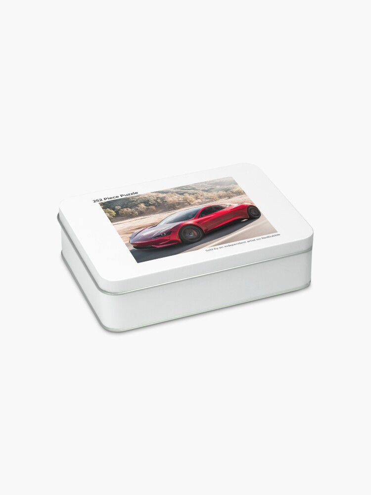 Alternate view of Tesla Roadster 2022 On The Road  Design! Jigsaw Puzzle