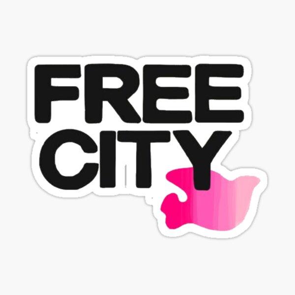 Free city Sticker