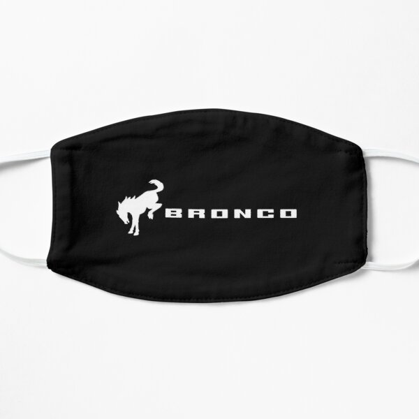 Ford Bronco Logo Flat Mask