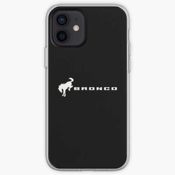 Ford Bronco Logo iPhone Soft Case