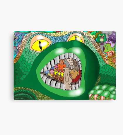 Introduced Species Canvas Print