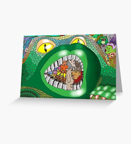 Introduced Species Greeting Card