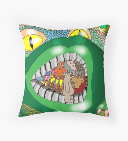 Introduced Species Throw Pillow