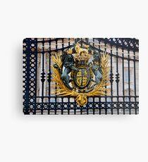 Buckingham Palace - Gates Metal Print