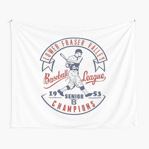 Retro Baseball Tapestry