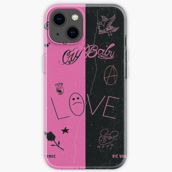 lil peep edit iPhone Soft Case