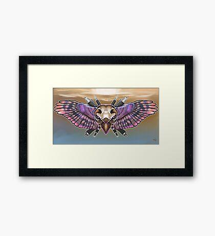 Art sheild  Framed Print