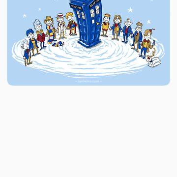 Doctor Whoville - Sticker by ianleino