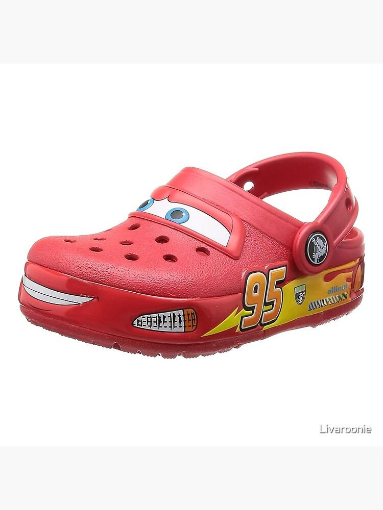 Lightning McQueen Crocs\